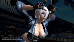 SNK King of Fighters Nainen Kuva
