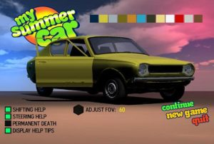 My Summer Car Suomalainen Autopeli